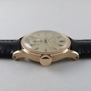 Pink Gold Patek Philippe Calatrava Ref. 448 vintage wristwatch made in 1953