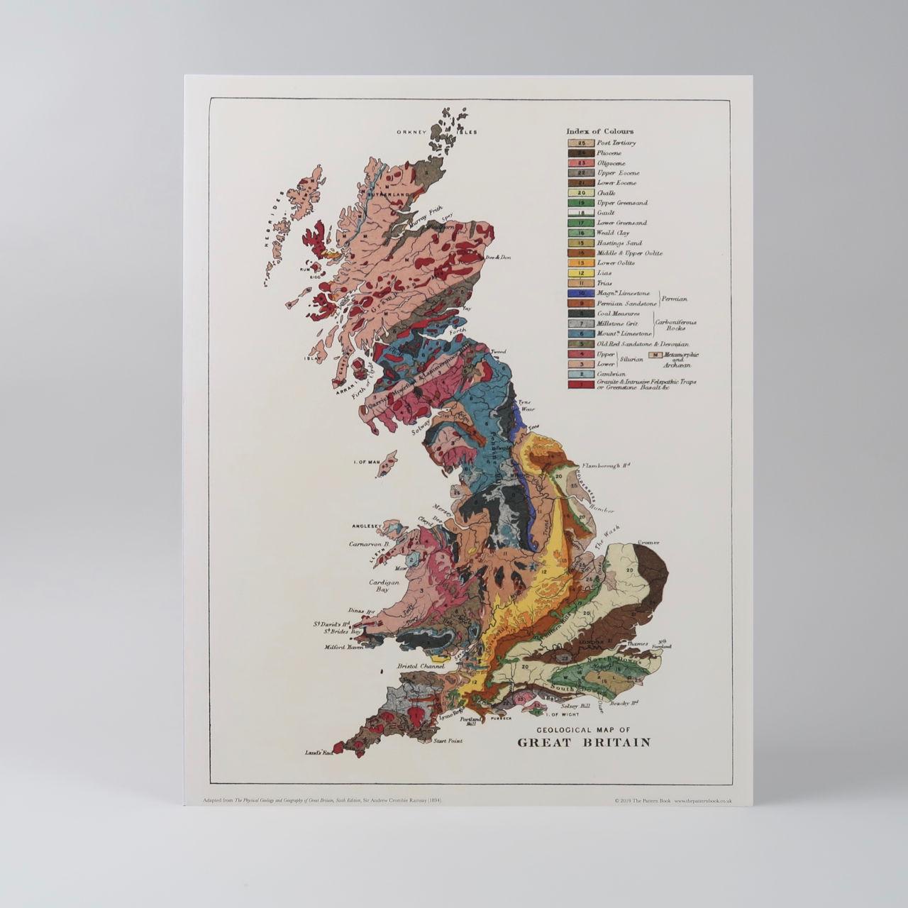 Geology of Britain Print