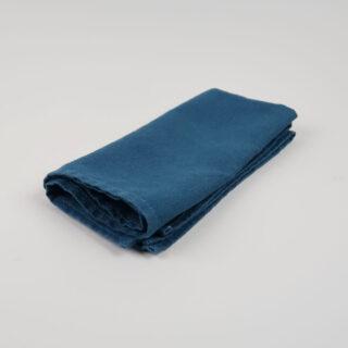 Peacock Blue 100% Linen Napkins - handmade in Ludlow