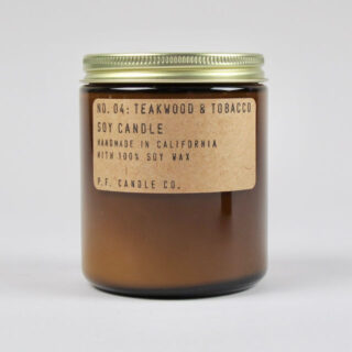 Teakwood & Tobacco Scented Candle