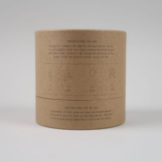 Large Geranium Soy Candle in Terracotta Pot
