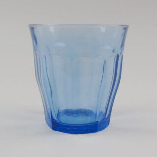 Blue 'Picardie' Drinking Glasses - Box of 6