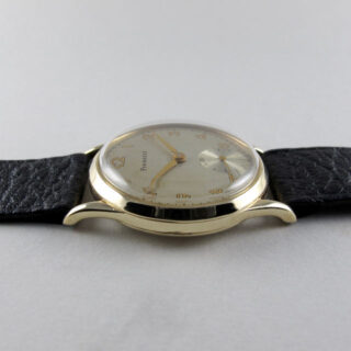 Pinnacle gold vintage wristwatch, hallmarked 1953