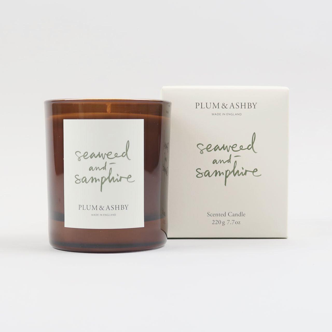 Seaweed & Samphire Scented Candle - Large