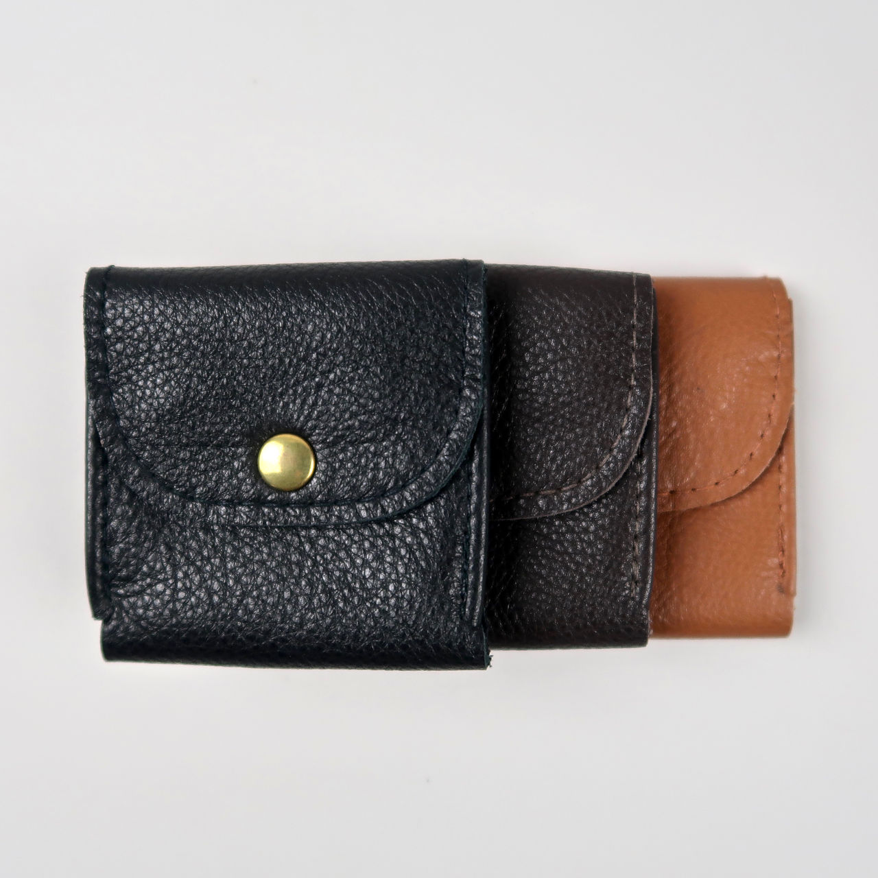 Leather pocket watch pouches