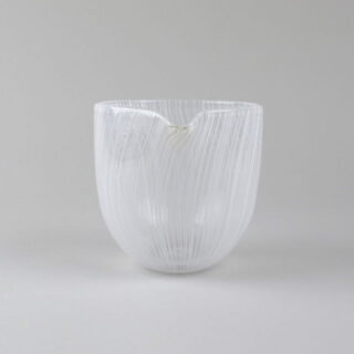 Filigrana Handblown Glass Pouring Bowls made in Northern Ireland