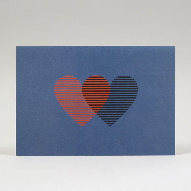 Hearts Card by Pressed & Folded