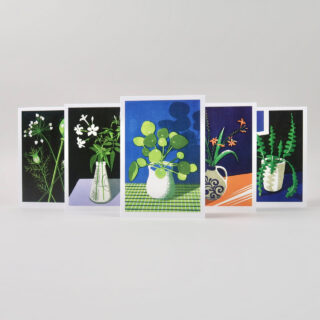 James Brown Pressed Folded Botanical Cards