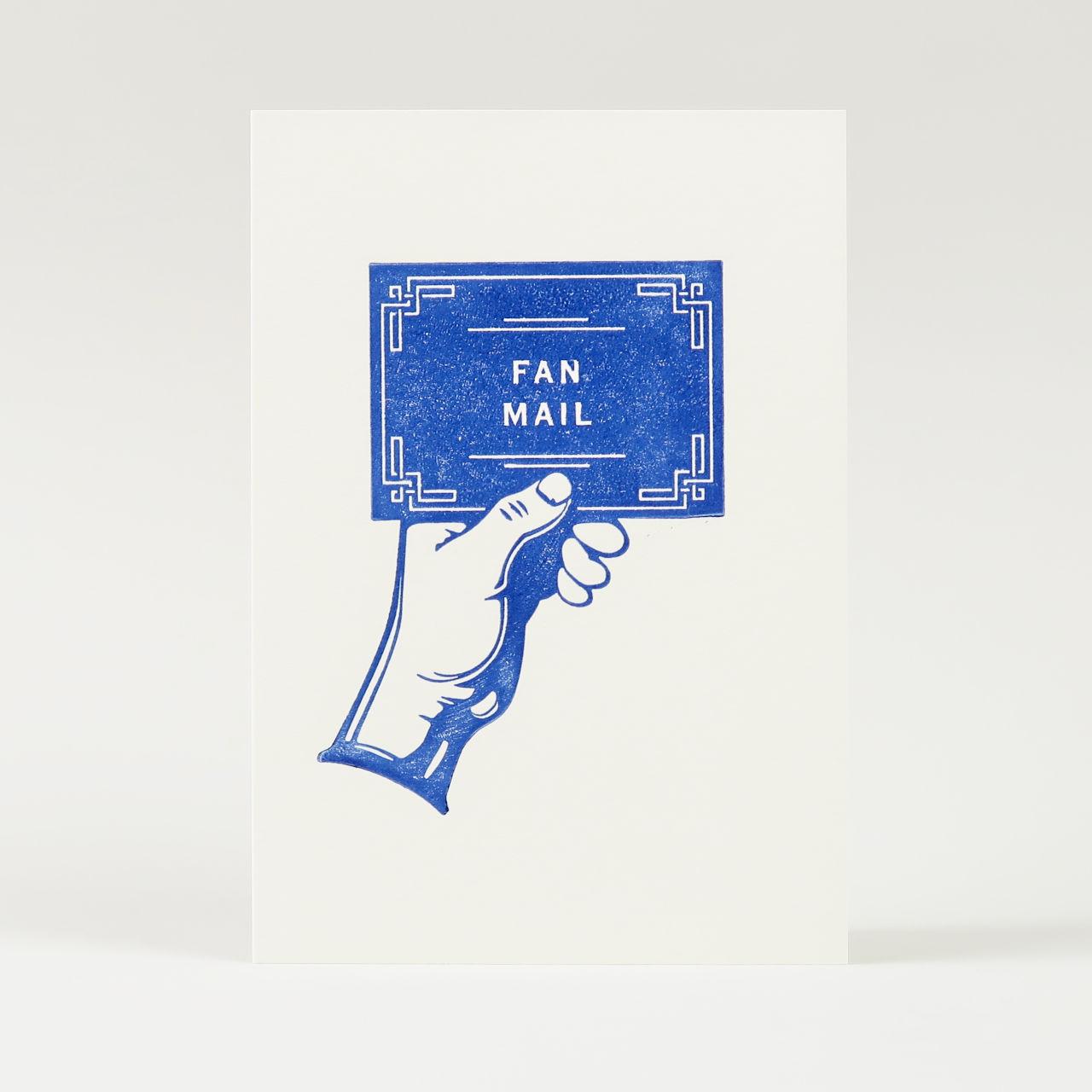 Fan Mail Greetings Card