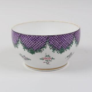 Purple Trellis Bowl