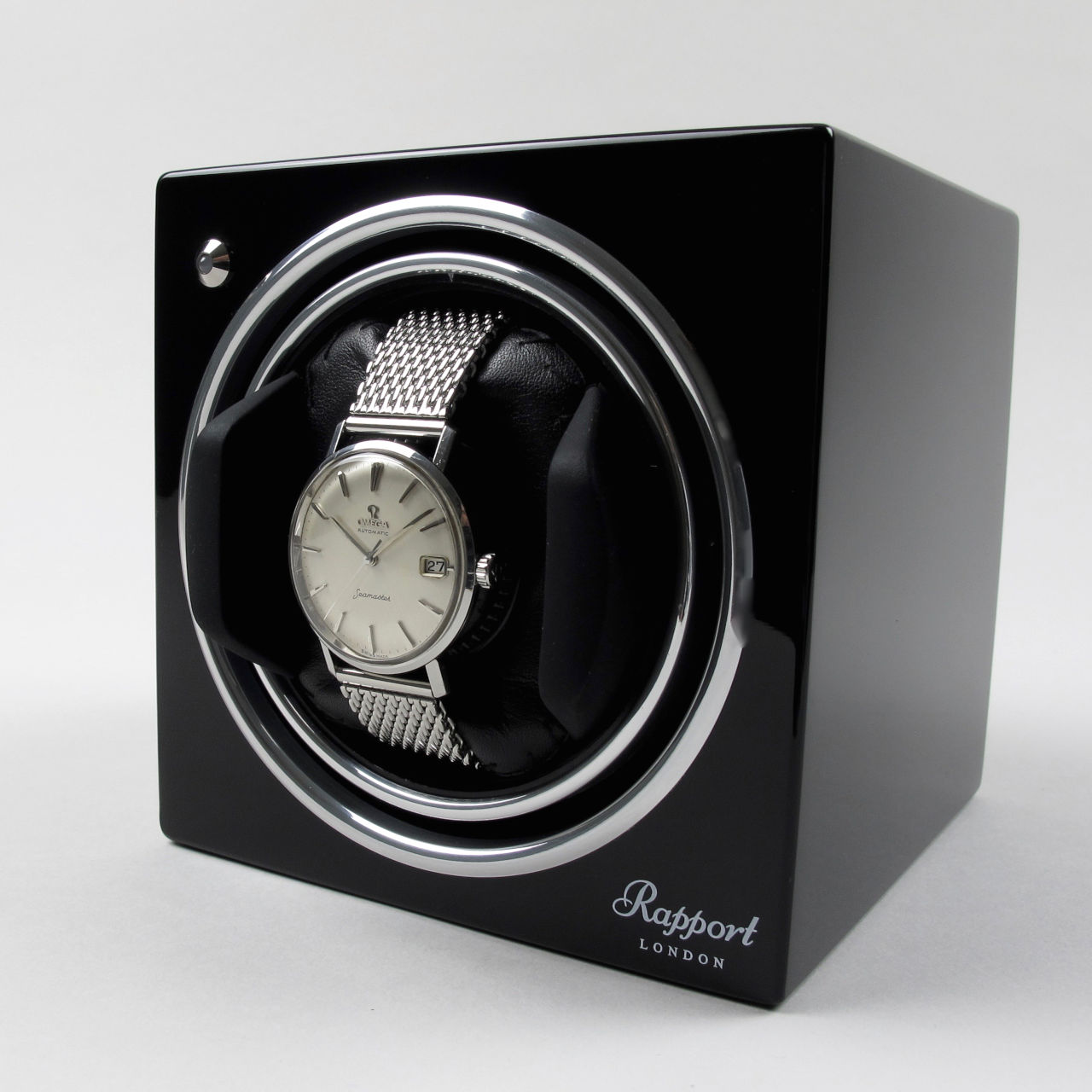 Rapport Evo Cube watch winders for mechanical automatic wristwatches