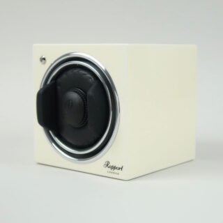 Rapport White Evo Cube watch winder for mechanical automatic wristwatches