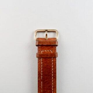 Record Cal. 022-18SC 9ct gold vintage wristwatch, hallmarked 1954