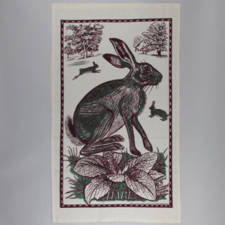 Richard Bawden Tea Towel - Hare