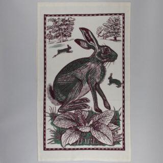 Richard Bawden Tea Towel - Hare