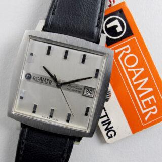 Roamer Red Sea steel vintage wristwatch, circa 1967