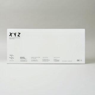 Alphabet Soup Wall Hooks - XYZ - Black
