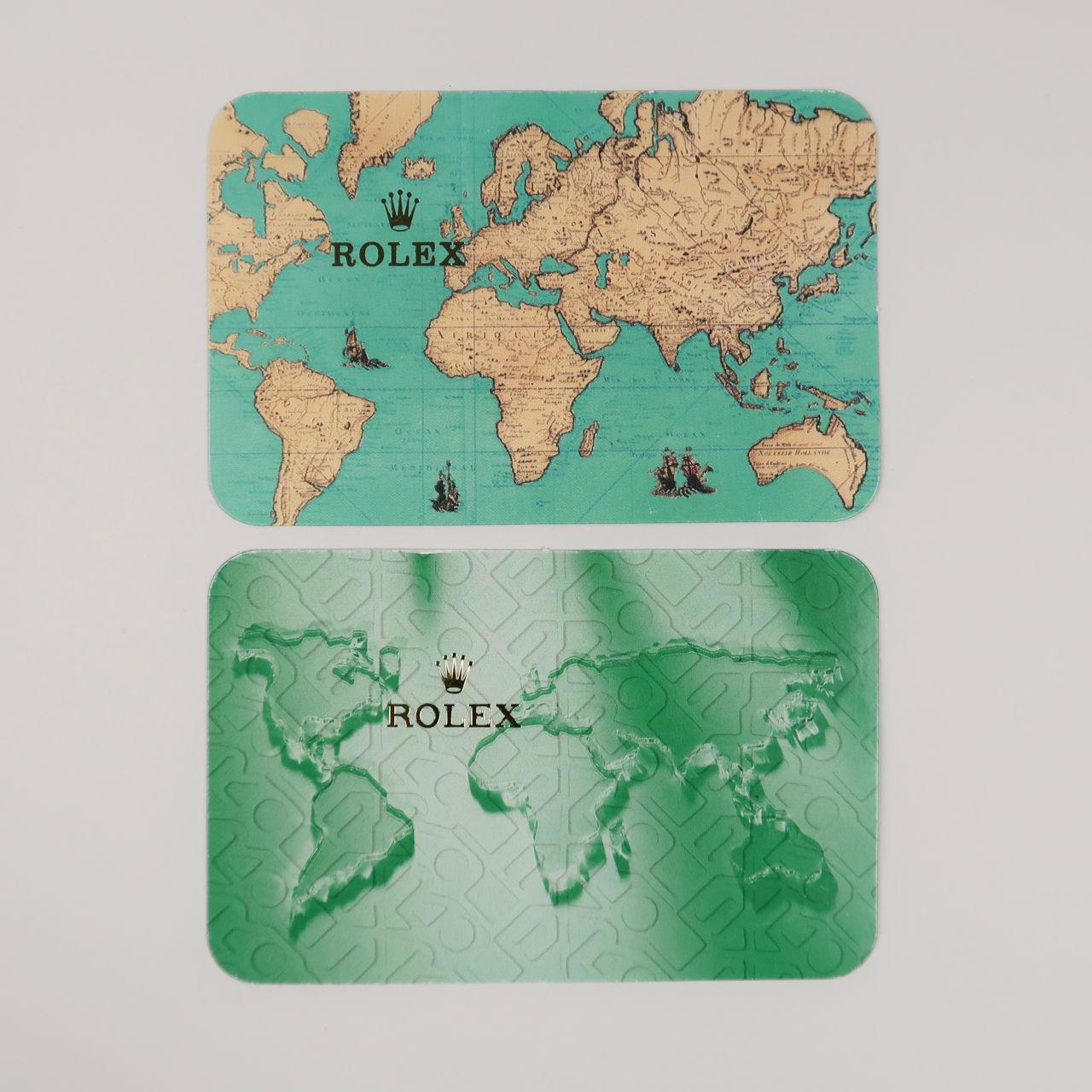 Rolex Calendar Cards
