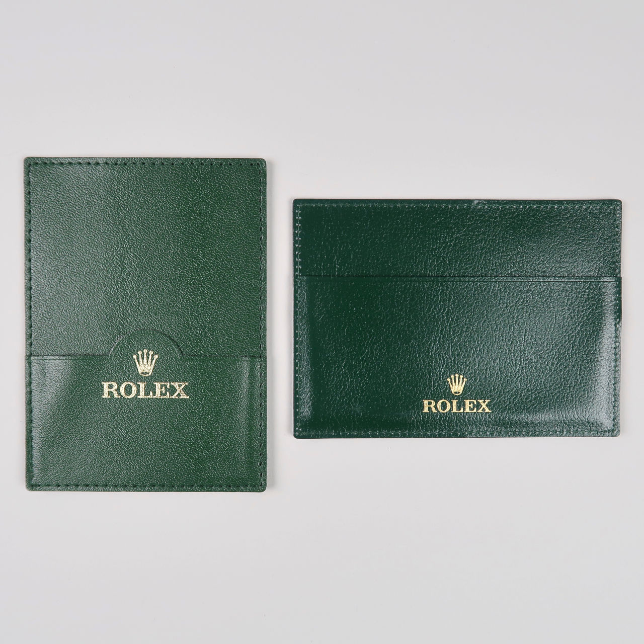 Rolex leather document wallet