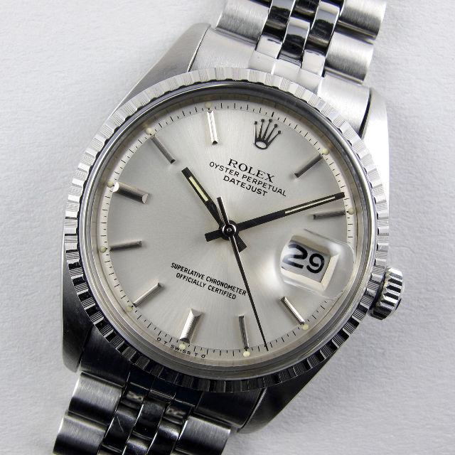 Rolex Oyster Peperpetual Datejust Ref. 1603 steel vintage wristwatch, circa 1974