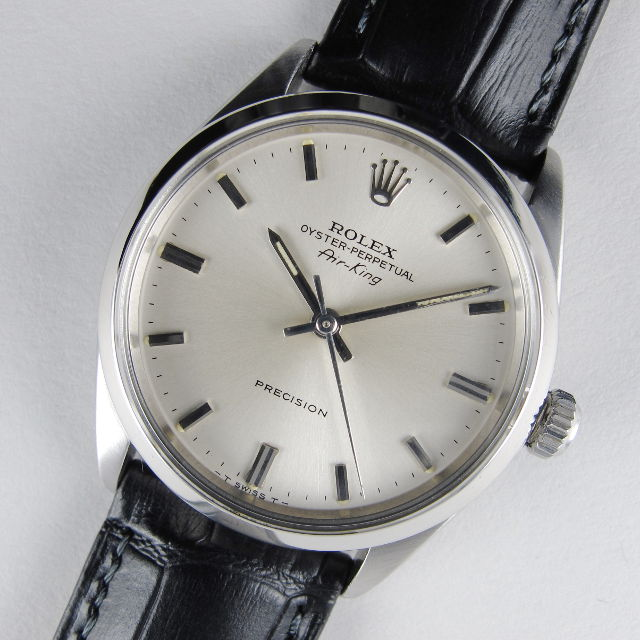 Steel Rolex Oyster Perpetual Air,King Precision Ref. 5500