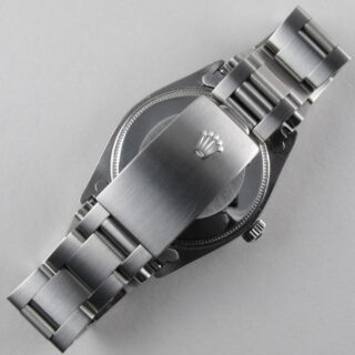 Steel Rolex Oyster Perpetual Air-King Precision Ref. 5500 vintage wristwatch, sold in 1965