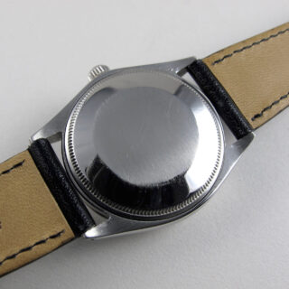 Rolex Oyster Perpetual Air King Ref. 5500 steel vintage wristwatch, dated 1968