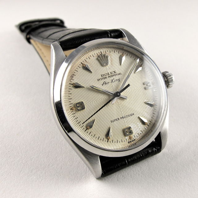 Steel Rolex Oyster Perpetual Air King Super Precision Ref