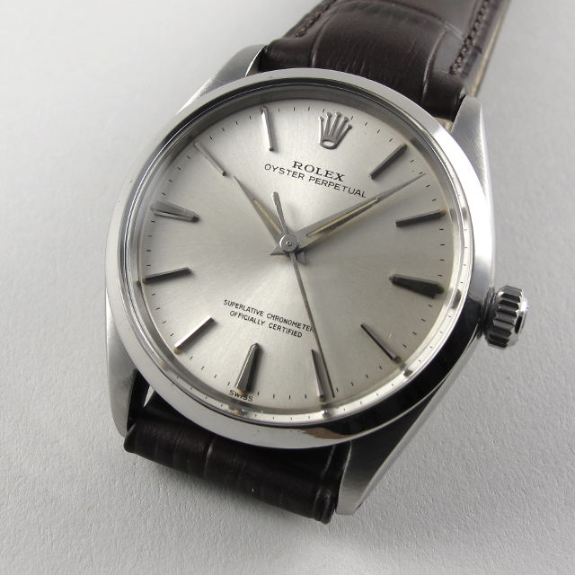 Steel Rolex Oyster Perpetual Chronometer Ref. 1002 vintage ... 31ff3dfd639