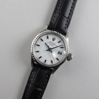 Rolex Oyster Perpetual Date Ref. 6517 lady's vintage wristwatch, dated 1968