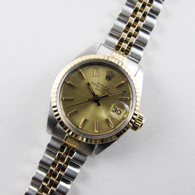 Rolex Oyster Perpetual Date Ref. 6917 lady's vintage wristwatch, circa 1983