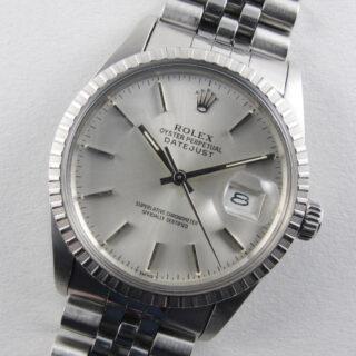 Rolex Oyster Perpetual Datejust Chronometer Ref. 16030 steel vintage wristwatch, circa 1985