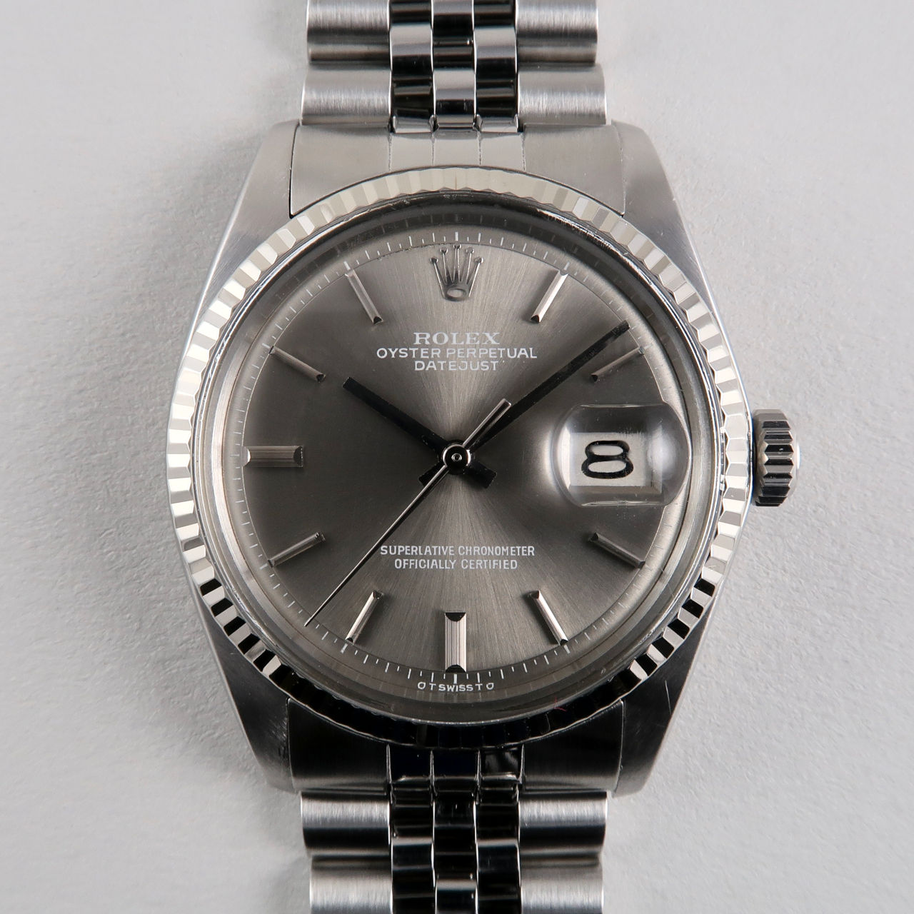 Rolex Oyster Perpetual Datejust 'Sigma' Ref.1601 dated 1972
