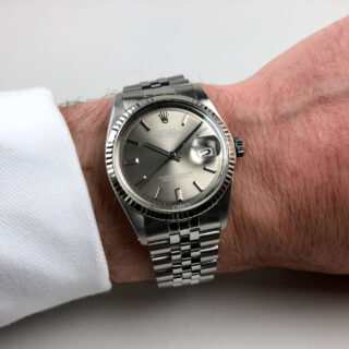 Rolex Oyster Perpetual Datejust 'Sigma' Ref.1601 dated 1972 | steel automatic vintage wristwatch