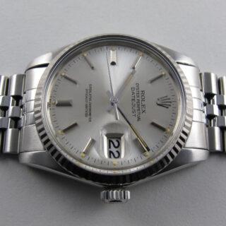 Rolex Oyster Perpetual Datejust Ref. 16014 steel vintage wristwatch, circa 1983