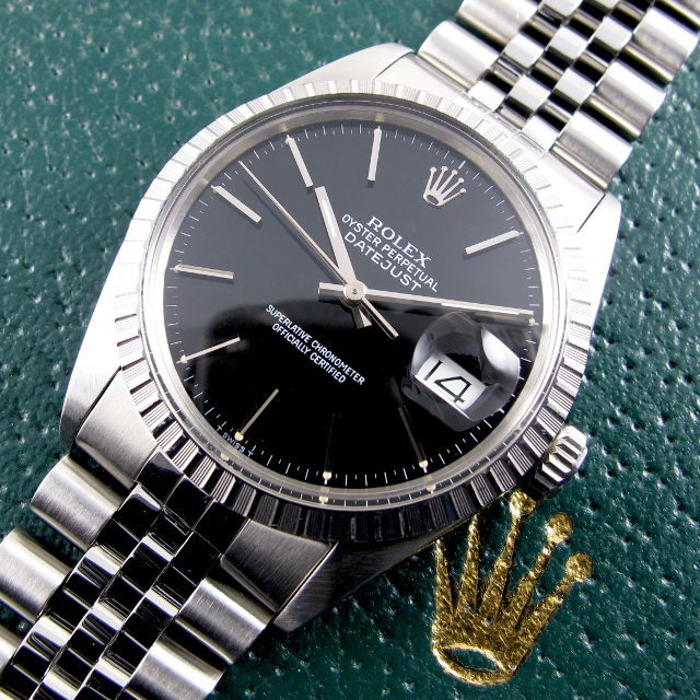 021712a04bac Home Watches Sold Watches Rolex Oyster Perpetual Datejust Ref. 16030 steel  vintage wristwatch