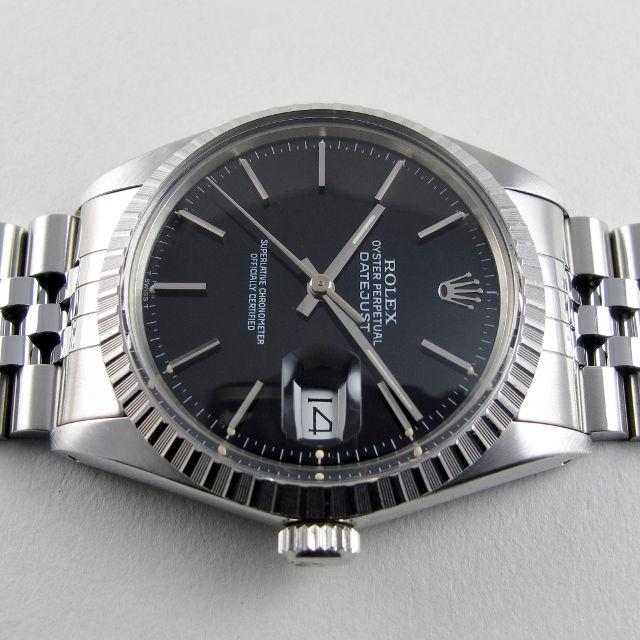 a5e153e8ba0c Rolex Oyster Perpetual Datejust Ref. 16030 steel vintage wristwatch ...