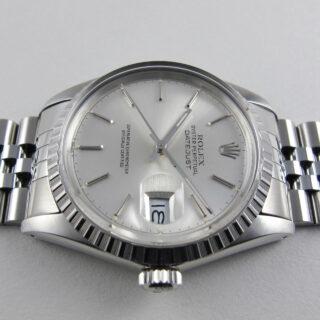 Rolex Oyster Perpetual Datejust Ref. 16030 steel vintage wristwatch, circa 1987