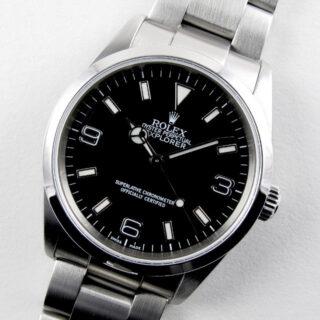 Rolex Oyster Perpetual Explorer Ref. 114270 stainless steel wristwatch, circa 2002