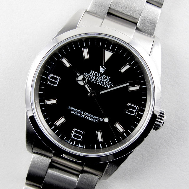 Rolex Oyster Perpetual Explorer Ref. 114270 stainless steel wristwatch, circa 2002