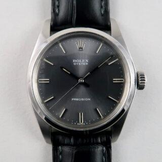 Rolex Oyster Precision Ref. 6426 grey dial