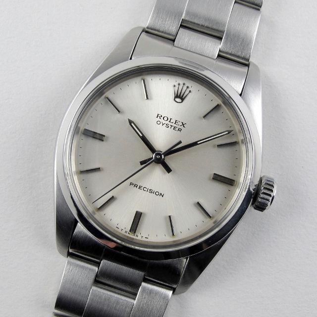 Rolex Oyster Precision Ref. 6426 steel vintage wristwatch, circa 1975