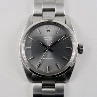 Rolex Oyster Precision Ref. 6426 steel vintage wristwatch, circa 1981
