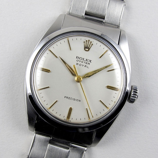 Rolex Oyster Royal Precision Ref. 6426 steel vintage wristwatch, dated 1962