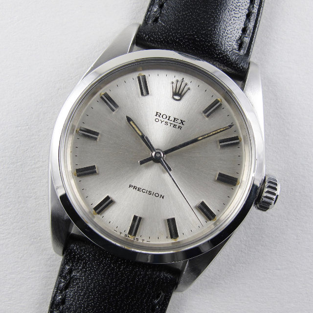 Rolex Oyster Precision Ref. 6426 vintage wristwatch, date stamped 1967