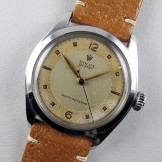 Rolex Oyster Ref. 6082 steel vintage wristwatch, circa 1951