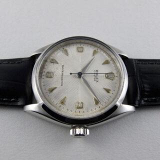 Rolex Oyster Ref. 6480 steel vintage wristwatch, dated 1956