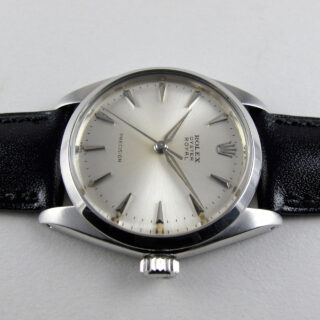 Rolex Oyster Royal Precision Ref. 6426 steel vintage wristwatch, dated 1963