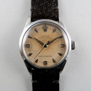 Rolex Oyster Royal Ref. 6246 dated 1957 | steel herring-bone sector dial vintage wristwatch