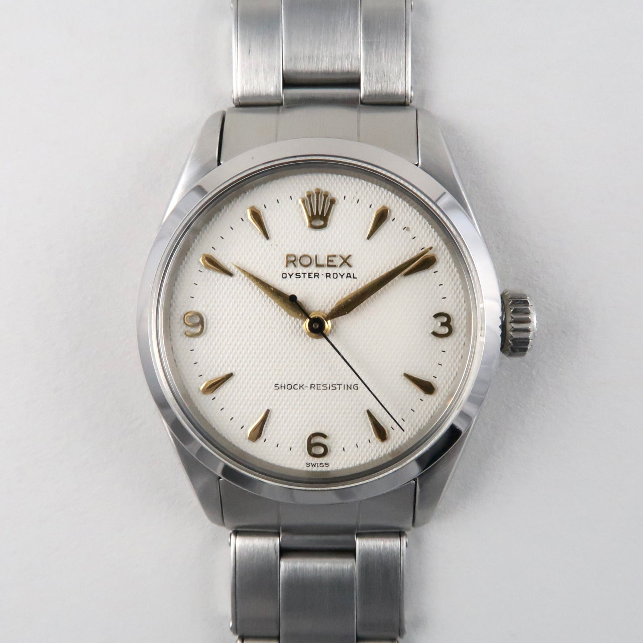 Rolex Oyster Royal Ref. 6444 steel vintage wristwatch, dated 1956